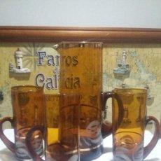 Vintage: ANTIGUA JARRA DE CRISTAL. Lote 111066719