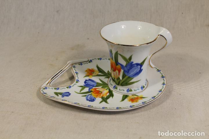 Vintage: Taza Café c/ Platillo en porcelana the leonardo collection - Foto 2 - 111314351