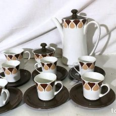 Vintage: JUEGO CAFE VIGO ROYAL CHINA. Lote 111576747