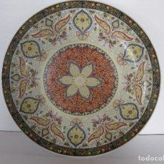 Vintage: PLATO VINTAGE DE CERÁMICA ESMALTADA CHINO. Lote 111990323