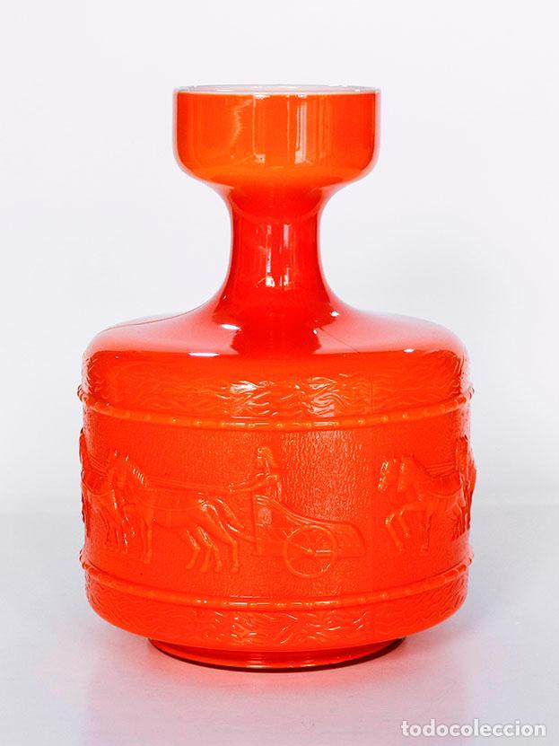 Vintage: Jarrón vintage cristal doblado 1970s - Foto 2 - 112132735
