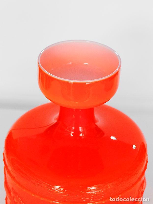 Vintage: Jarrón vintage cristal doblado 1970s - Foto 3 - 112132735