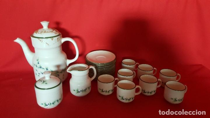 Vintage: Juego de café / té italiano con delicado diseño. - Foto 2 - 112421747