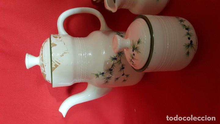 Vintage: Juego de café / té italiano con delicado diseño. - Foto 3 - 112421747