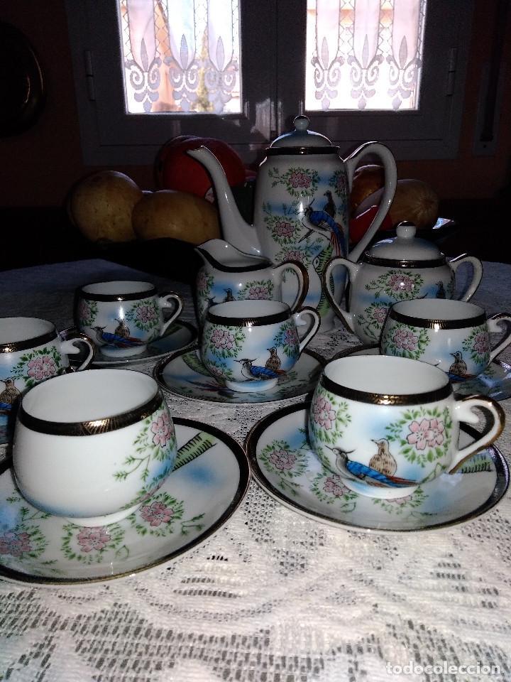 JUEGO CAFE (Vintage - Decoración - Porcelanas y Cerámicas)