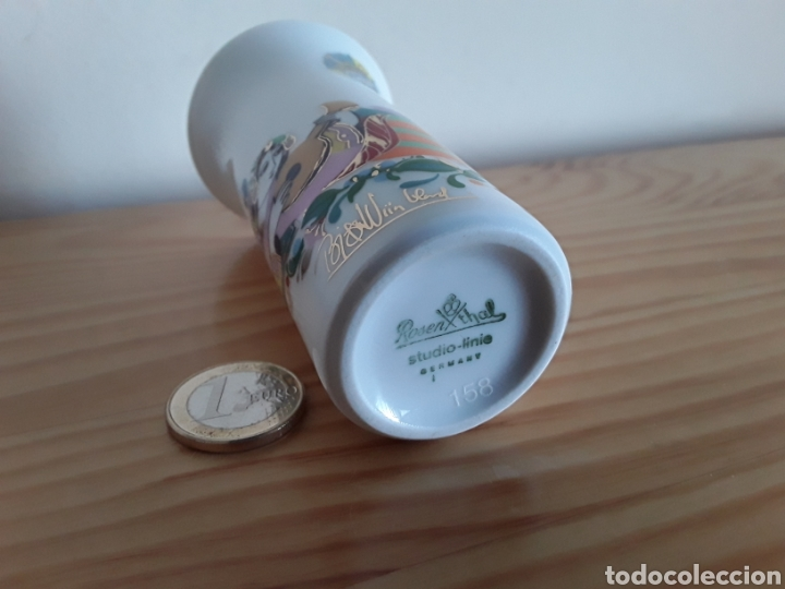 Vintage: Jarrón de porcelana Rosenthal - Foto 4 - 112829831