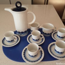 Vintage: JUEGO DE CAFE DE PORCELANA PONTESA. Lote 113006723