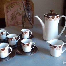 Vintage: JUEGO DE CAFÉ. Lote 113124683