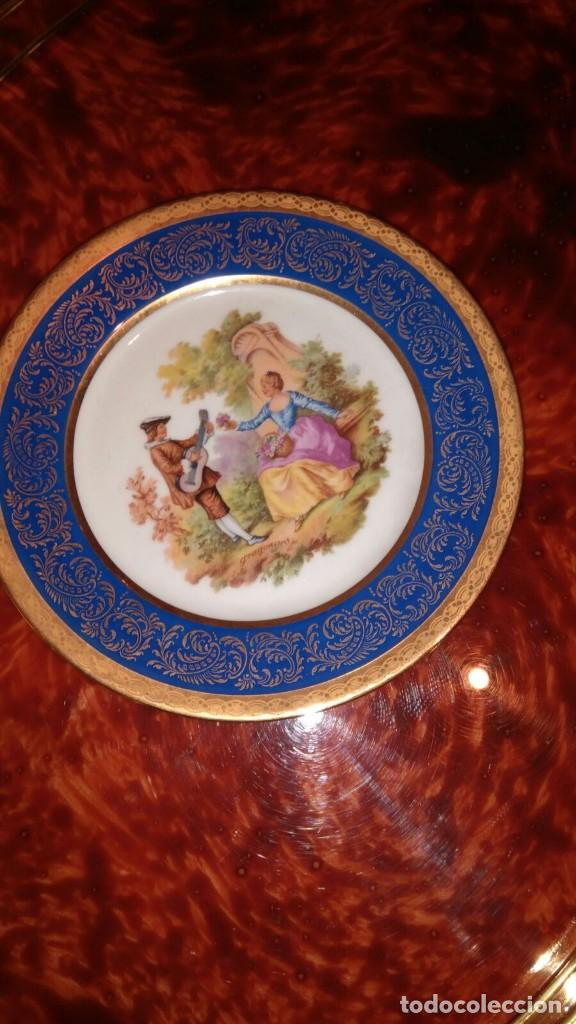 Vintage: Pareja platos Limoges - Foto 2 - 113650631