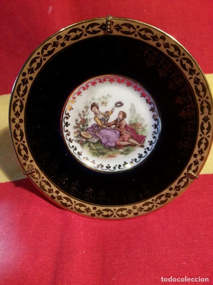 LIMOGE - PLATITO . (Vintage - Decoración - Porcelanas y Cerámicas)