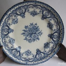 Vintage: PLATO DE PORCELANA INGLESA SWINNERTONS STAFFORDSHIRE ENGLAND KENT. Lote 114039071