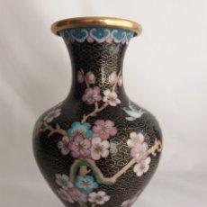 Vintage: MARAVILLOSO JARRON CHINO CLOISONNE. Lote 114450643