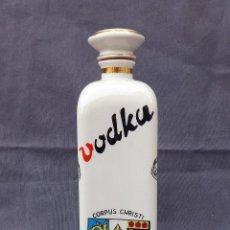Vintage: BOTELLA LICORERA DE PORCELANA - VODKA - CERAMICAS HISPANIA. Lote 115034971