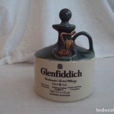 Vintage: BOTELLA CERAMICA GLENFIDDICH YEAR 8 OLD, VACIA.. Lote 116113499