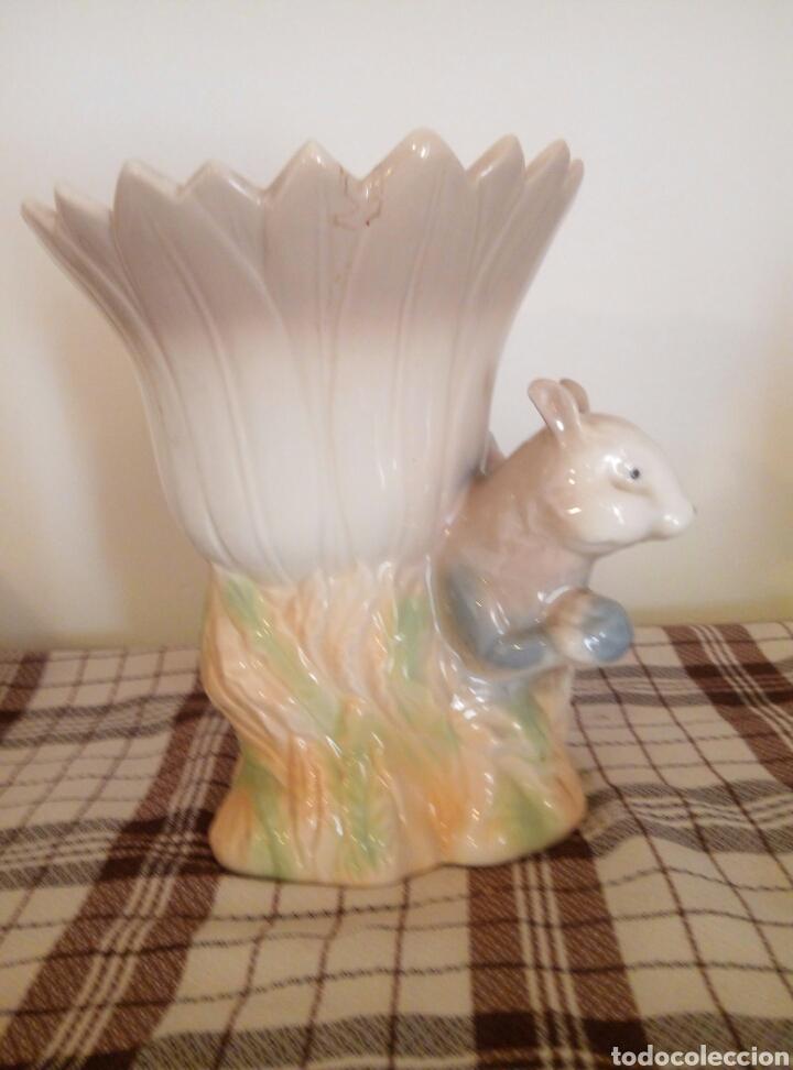 Vintage: A Jarron porcelana Ardilla - Foto 2 - 116676488