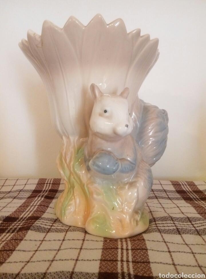 Vintage: A Jarron porcelana Ardilla - Foto 3 - 116676488