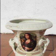 Vintage: FLORERO MESA DE CERAMICA PORCELANA. Lote 117488883