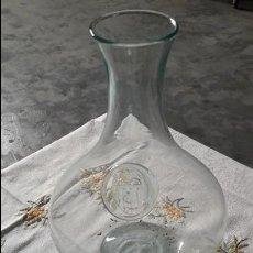 Vintage: DECANTADO CRISTAL CON ESCUDO DEL VALENCIA. Lote 116800643