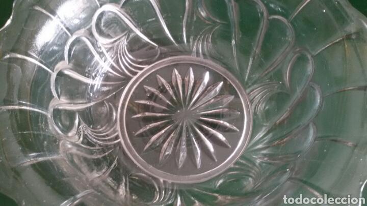 Vintage: Conjunto para postre en cristal tallado. Años 80. 8 Piezas. - Foto 3 - 117611378