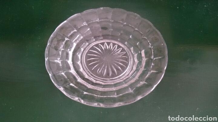 Vintage: Conjunto para postre en cristal tallado. Años 80. 8 Piezas. - Foto 4 - 117611378