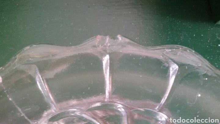 Vintage: Conjunto para postre en cristal tallado. Años 80. 8 Piezas. - Foto 8 - 117611378
