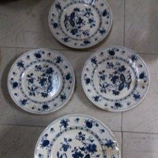 Vintage - lote de platos 10 hondo y 6 llanos - 117739147