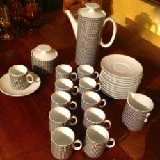 Vintage: JUEGO DE CAFÉ TÉ DE PORCELANA ALEMANA. Lote 117797783