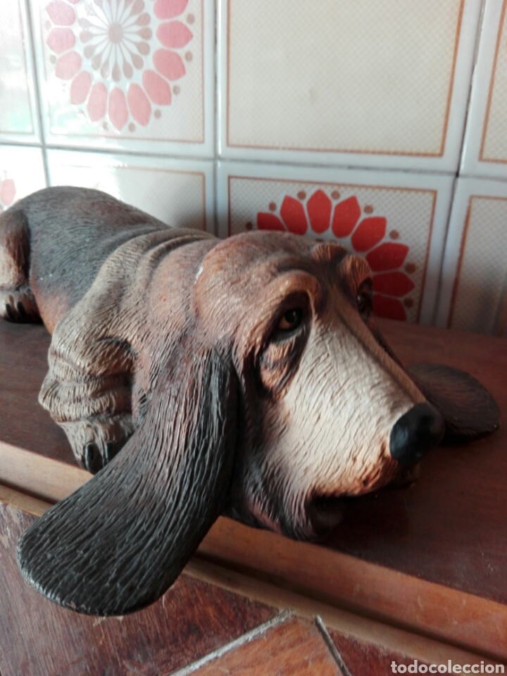 gran figura de perro salchicha teckel vintage 7 - Comprar Porcelana ...