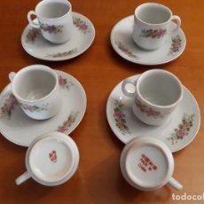 Vintage: 6 TAZAS, 4 PLATOS ANTIGUOS PORCELANA CHINA SELLADA. Lote 118331395