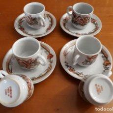 Vintage: 6 TAZAS, 4 PLATOS DE PORCELANA CHINA. Lote 118359271