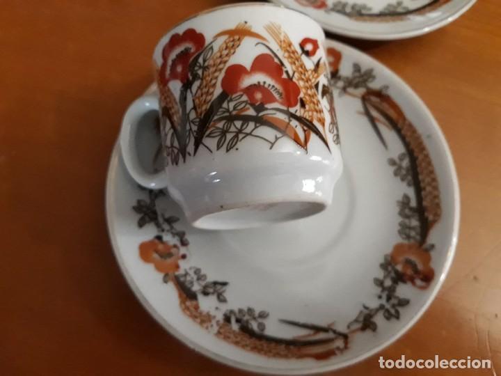 Vintage: 6 TAZAS, 4 PLATOS DE PORCELANA CHINA - Foto 2 - 118359271