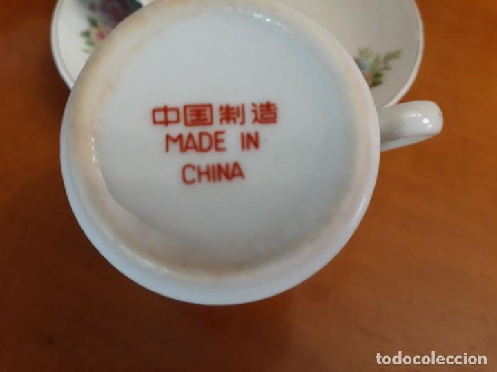 Vintage: 6 TAZAS, 4 PLATOS DE PORCELANA CHINA - Foto 3 - 118359271