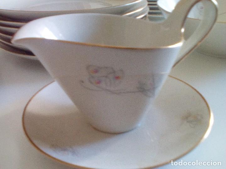 Vintage: Alka Kunst Baviera - Vajilla completa comprada en Alemania en el año 1960. Porcelana de lujo - Foto 7 - 118491923