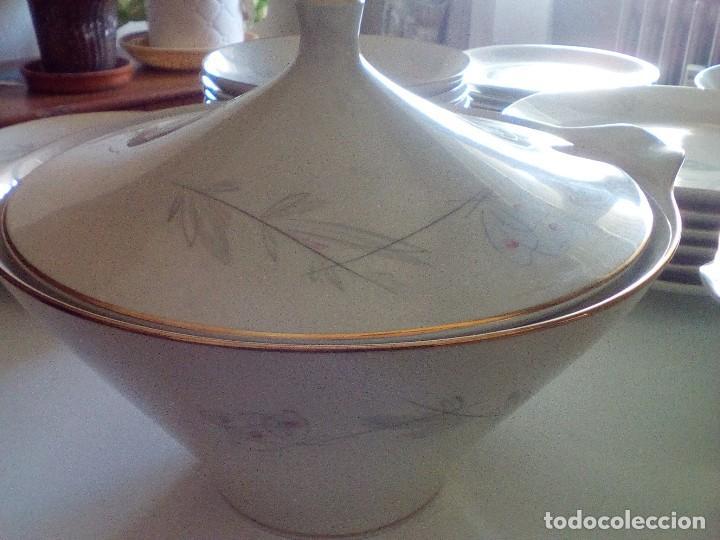 ALKA KUNST BAVIERA - VAJILLA COMPLETA COMPRADA EN ALEMANIA EN EL AÑO 1960. PORCELANA DE LUJO (Vintage - Decoración - Porcelanas y Cerámicas)