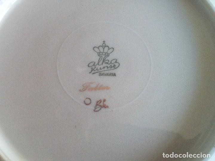 Vintage: Alka Kunst Baviera - Vajilla completa comprada en Alemania en el año 1960. Porcelana de lujo - Foto 5 - 118491923