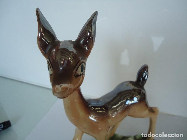Vintage: figura de ciervo - Foto 2 - 118667463