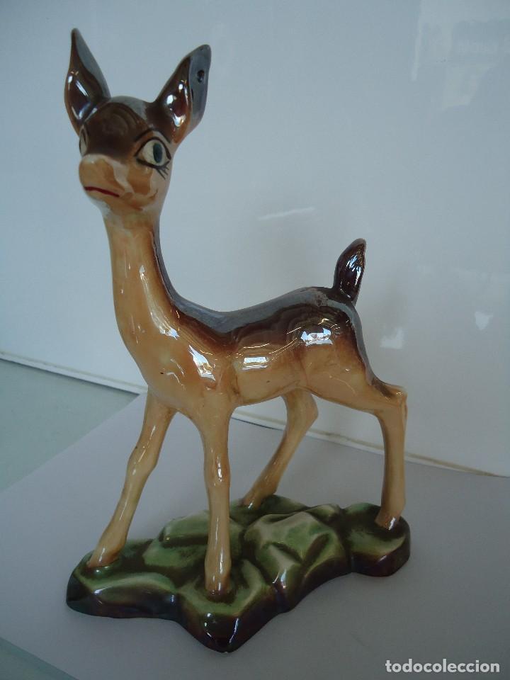 Vintage: figura de ciervo - Foto 3 - 118667463