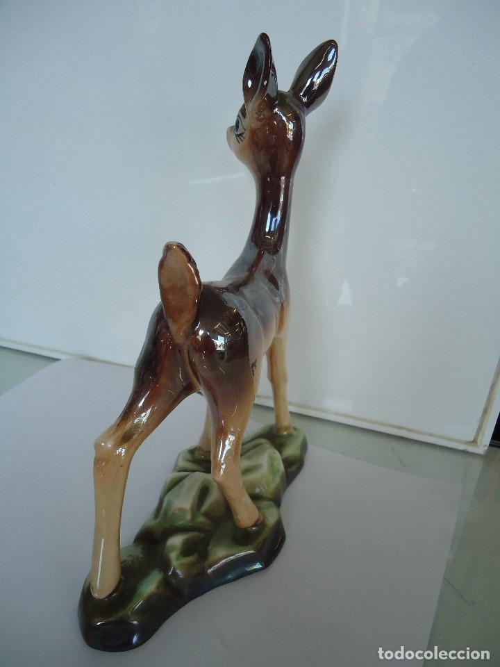 Vintage: figura de ciervo - Foto 6 - 118667463