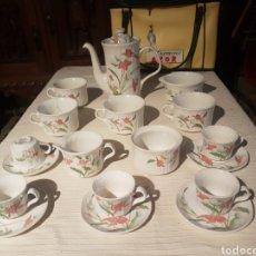 Vintage: JUEGO CAFÉ TE CHOCOLATE PONTESA VINTAGE. Lote 118760382