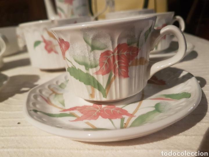 Vintage: Juego café te chocolate Pontesa vintage - Foto 3 - 118760382