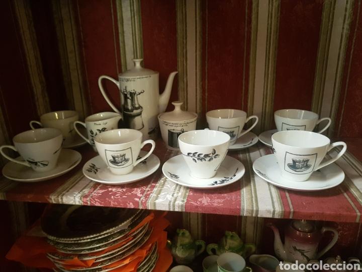 Vintage: Juego café Pontesa - Nescafé - Foto 2 - 118933287