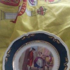 Vintage - Lote 2 platos burguesía inglesa - 119261635
