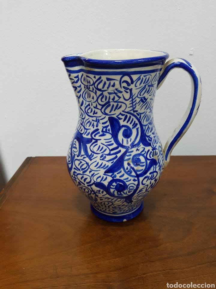 JARRON CERMICA MANISES VINTAGE (Vintage - Decoración - Porcelanas y Cerámicas)
