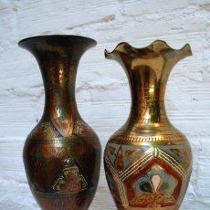 Vintage: JARRON ARABE BRONCE. Lote 156782200