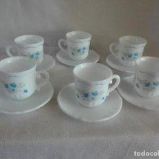 Vintage: JUEGO 6 TAZAS DE CAFÉ . Lote 121145547