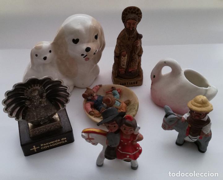 Vintage: Lote 7 pequeños adornos de colección - Foto 2 - 122095799