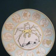 Vintage: PLATO REPRODUCCIÓN DALI (HOROSCOPO CANCER). Lote 122257119
