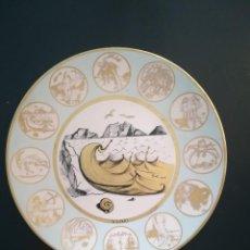 Vintage: PLATO REPRODUCCIÓN DALI (HOROSCOPO ACUARIO ). Lote 122257391