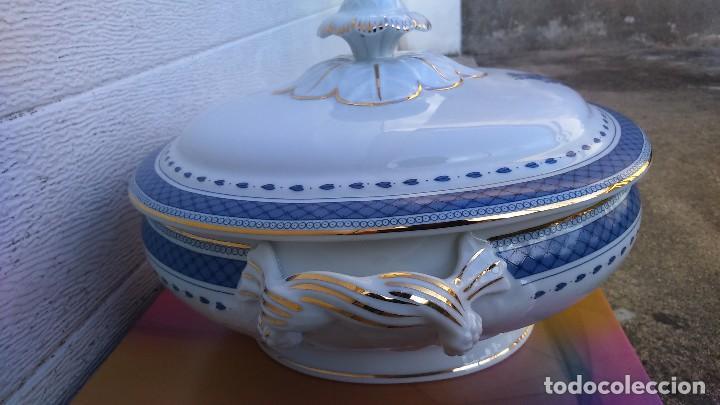 Vintage: Plato de Porcelana Vista Alegre (Portugal), con tapa - Foto 3 - 122489315