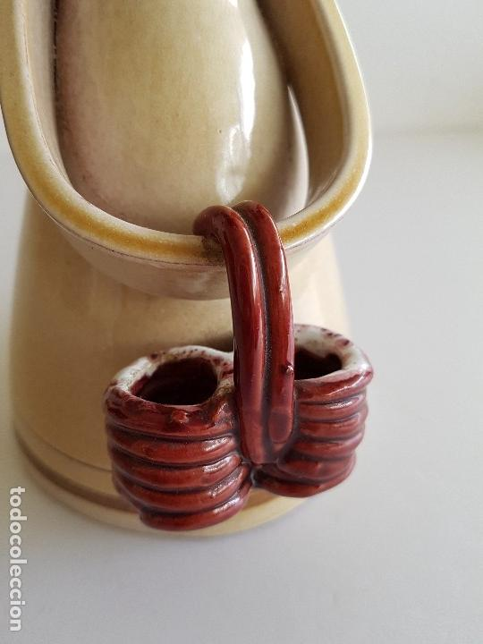 Vintage: Figura ceramica niña con cesto - Foto 5 - 44676324